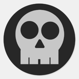 Pegatina SubPar del cráneo