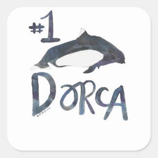 Pegatina superior de Dorca
