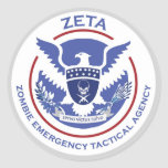 Pegatina táctico de la agencia de la emergencia