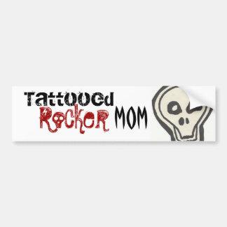 Pegatina tatuado de la mamá del eje de balancín etiqueta de parachoque