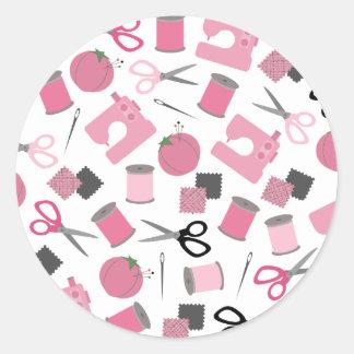Pegatina temático de costura del sello del sobre