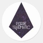 Pegatina traumático #4 del logotipo de Partie