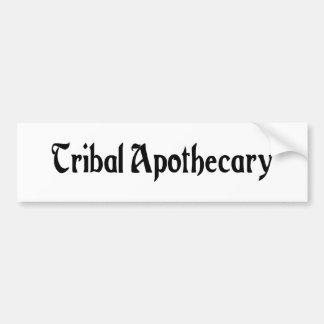 Pegatina tribal del boticario pegatina de parachoque