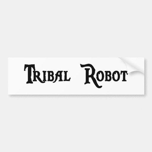 Pegatina tribal del robot pegatina para auto