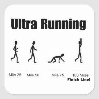 "Pegatina ""Ultra-Running"""