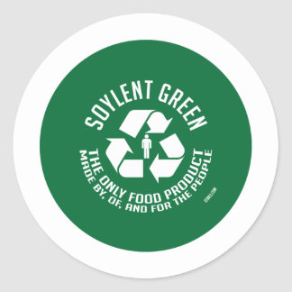 Pegatina verde de Soylent