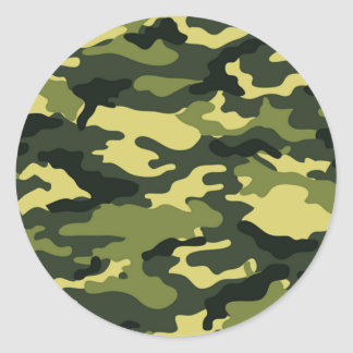 Pegatina verde del camuflaje