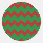 Pegatina verde rojo de los galones