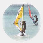 Pegatina Windsurfing de los pares