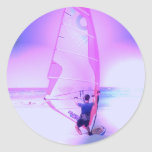 Pegatina Windsurfing del color