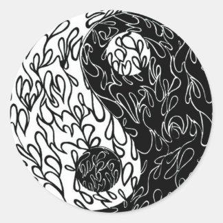 pegatina ying de yang