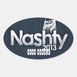 Pegatinas 2013 del funcionario de Nashty Meetup