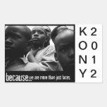 PEGATINAS 2 DE KONY