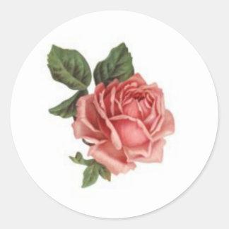 Pegatinas 2 de la flor del Victorian