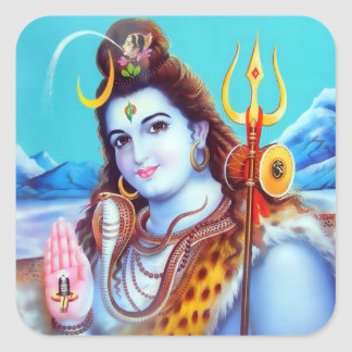 Pegatinas #2 de Shiva Pegatinas Cuadradas