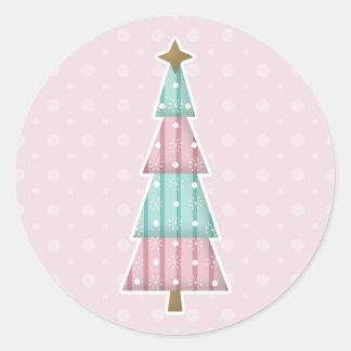 Pegatinas 2 del navidad del caramelo