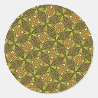 Pegatinas abstractos de Kaliedscope del arte de Di