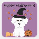 Pegatinas adaptables de Halloween de la bruja de B