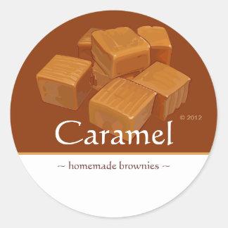 Pegatinas adaptables del caramelo del caramelo