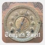 Pegatinas antiguos de la cara de reloj de Tempus F