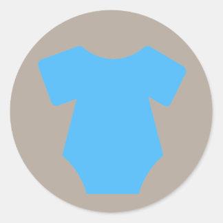 Pegatinas azules del equipo
