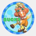 Pegatinas Bucky de la diversión