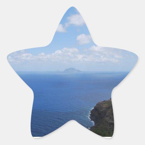 pegatinas calcomania forma de estrella