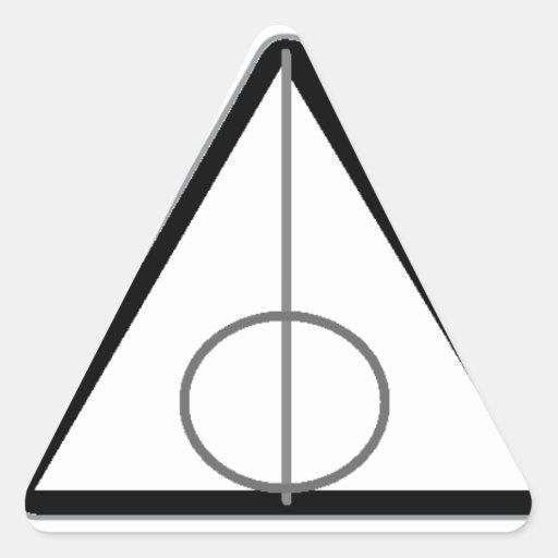Pegatinas Calcomanía Triangulo Personalizadas