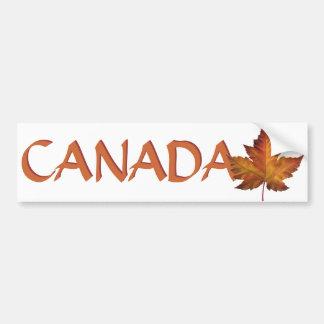 Pegatinas canadienses de la hoja de arce de la peg pegatina para auto