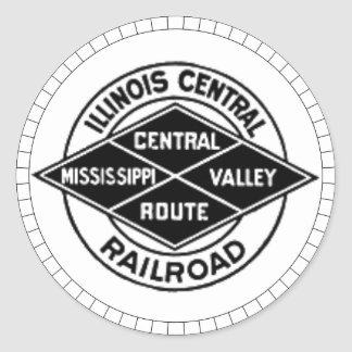 Pegatinas centrales del logotipo del vintage del pegatina redonda