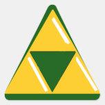 Pegatinas Colcomanias Triangulo