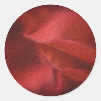 Pegatinas color de rosa