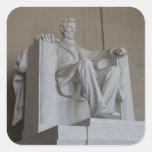 Pegatinas conmemorativos del Washington DC de Pegatina Cuadradas Personalizada