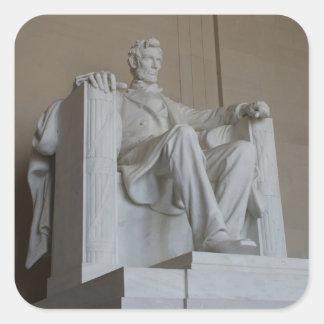 Pegatinas conmemorativos del Washington DC de Pegatina Cuadrada