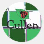 Pegatinas conocidos de Cullen Etiqueta