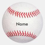 Pegatinas conocidos de encargo del béisbol