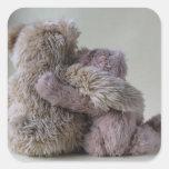 pegatinas cuadrados de los amigos del oso de pegatina cuadrada