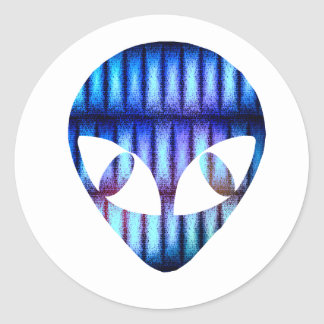 Pegatinas de Alienware Pegatina Redonda