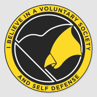 Pegatinas de AnCap Voluntaryist