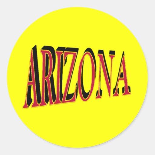Pegatinas de Arizona