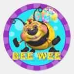 Pegatinas de BeeWee de la diversión