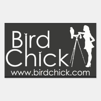 Pegatinas de Birdchick Pegatina Rectangular