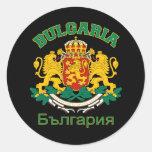 Pegatinas de BULGARIA Pegatina Redonda
