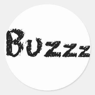 Pegatinas de Buzzz Pegatina Redonda