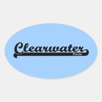 Pegatinas de Clearwater del deporte Pegatina Ovalada