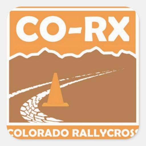 Pegatinas de CO-RX Colcomanias Cuadradases