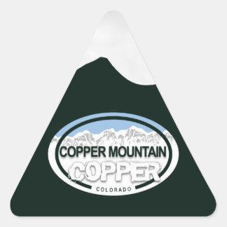 Pegatinas de cobre de la etiqueta de Colorado de