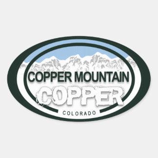 Pegatinas de cobre de la etiqueta de Colorado de l
