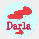 Pegatinas de Darla