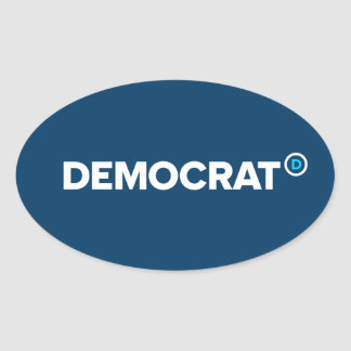 Pegatinas de Demócrata